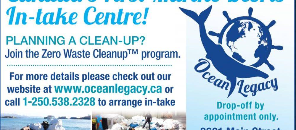 Marine Intake Centre for Zero Waste Cleanup TM