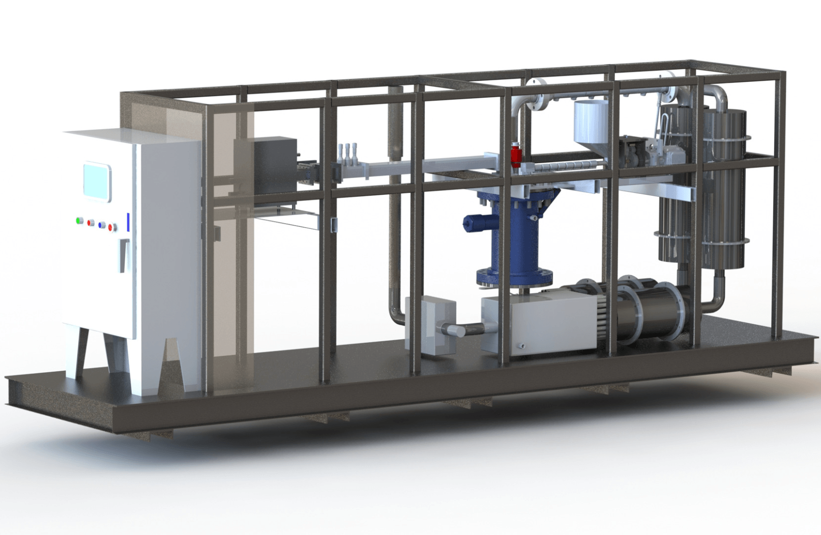 plastic to fuel pyrolysis machine