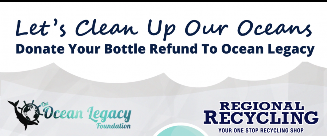 Donate your return to help the Ocean Legacy Foundation