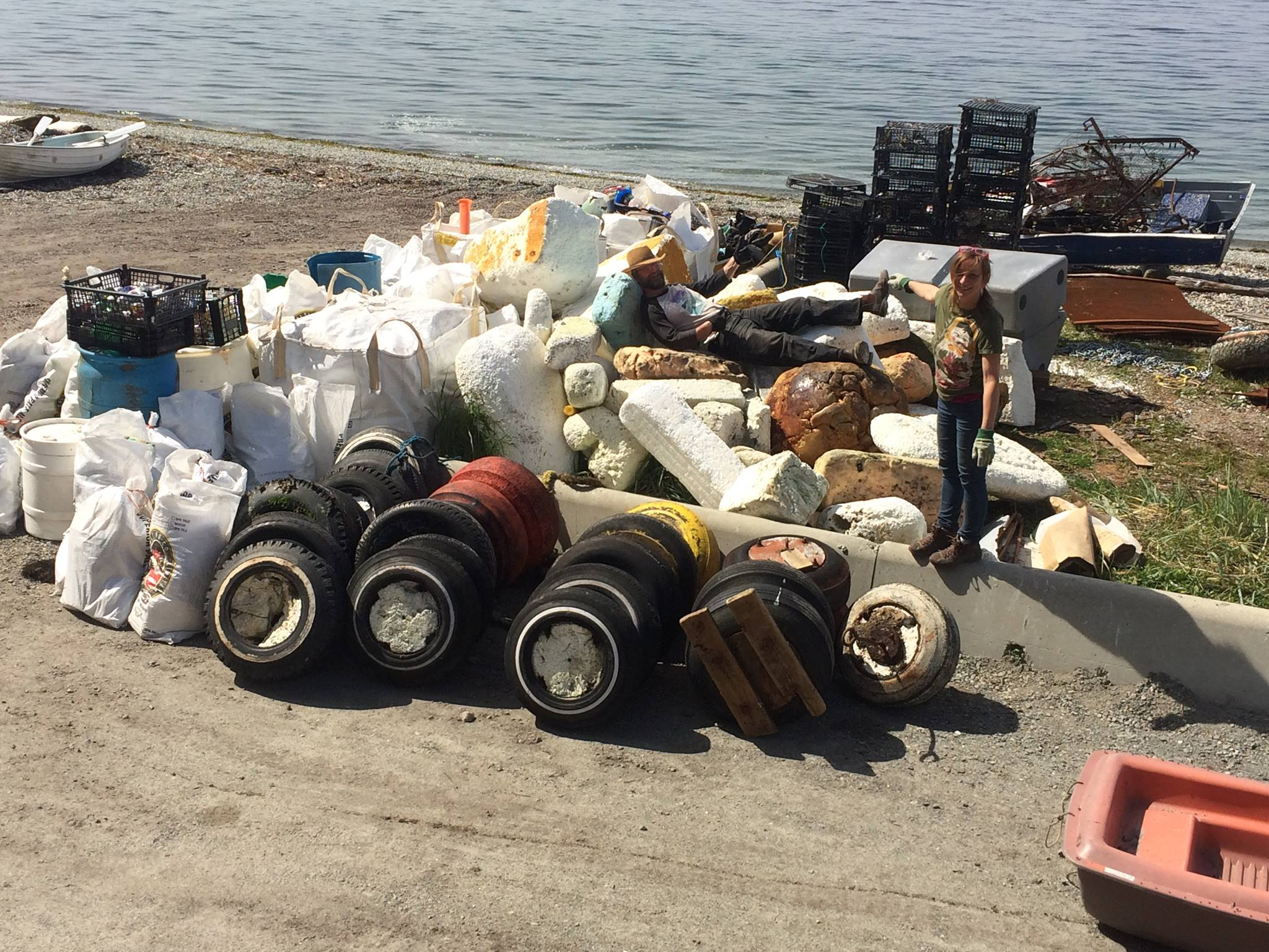 Salvary Island Beach Cleanup