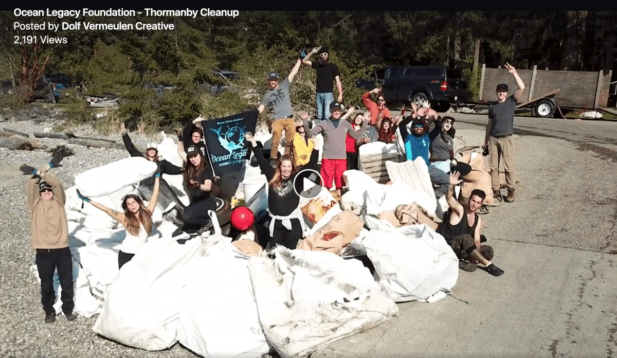 Thormanby Island Cleanup Video