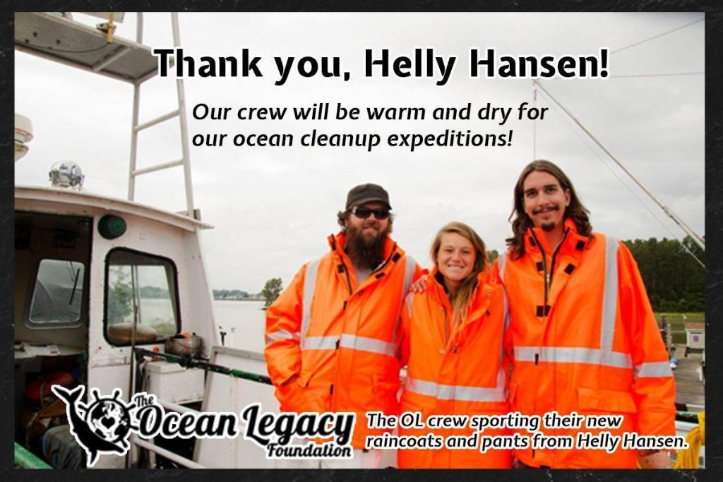 helly hanson donation